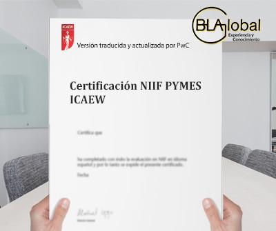 Certificación NIIF PYMES ICAEW