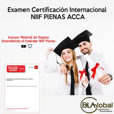 Examen Certificación Internacional NIIF Plenas ACCA