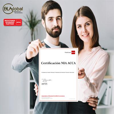 Certificación NIA ACCA