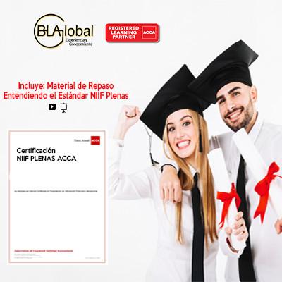 Certificación NIIF PLENAS ACCA