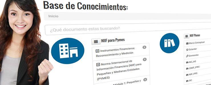Conoce nuestra nueva Base de Conocimientos un lugar de referencia para las NIIF
