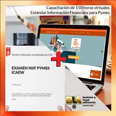 Capacitación en Estándar de Información Financiera para Pymes+EXAMEN NIIF PYMES ICAEW