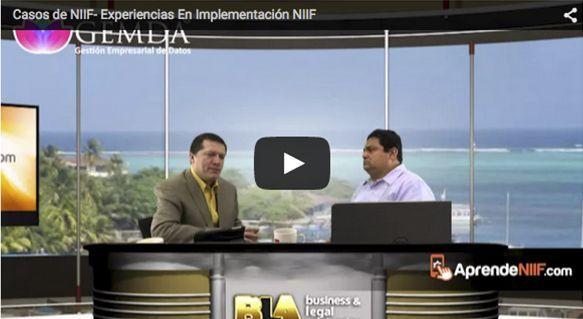 Casos de NIIF- Experiencias En Implementación NIIF