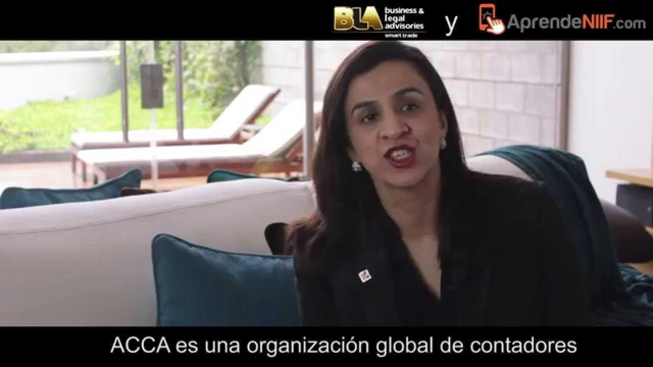 ACCA y AprendeNIIF.com brindando conocimientos para latinoamerica