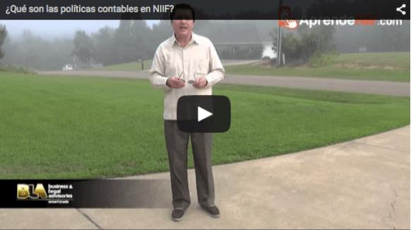 ¿Qué son las políticas contables en NIIF?
