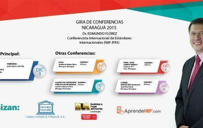 Gira De Conferencias Nicaragua 2015