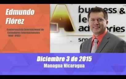 Conferencia Aspectos Esenciales para Implementar NIIF PYMES en Nicaragua