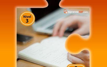 [NIVEL 3] Preparación para el exámen de Certificación de Estándares Internacionales para Pymes