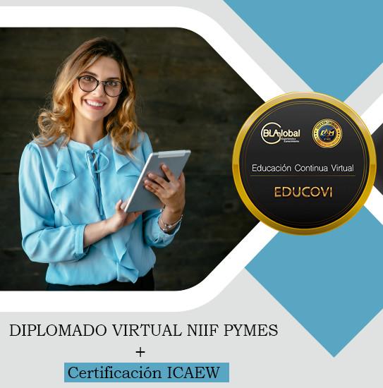 Diplomado Virtual NIIF Pymes + Certificación ICAEW