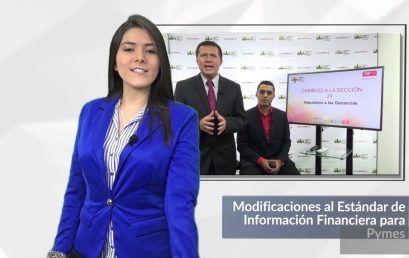 Actualizaciones NIIF para Pymes
