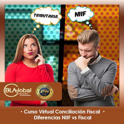 Conciliación Fiscal y diferencias NIIF versus Fiscal (BLAGlobal)