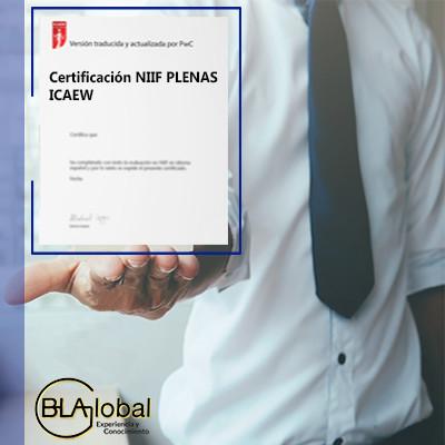Certificación NIIF PLENAS ICAEW