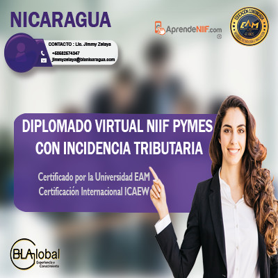 NICARAGUA DIPLOMADO NIIF PYMES CON INCIDENCIA TRIBUTARIA