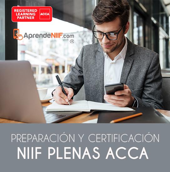 Preparación y Certificación NIIF PLENAS ACCA