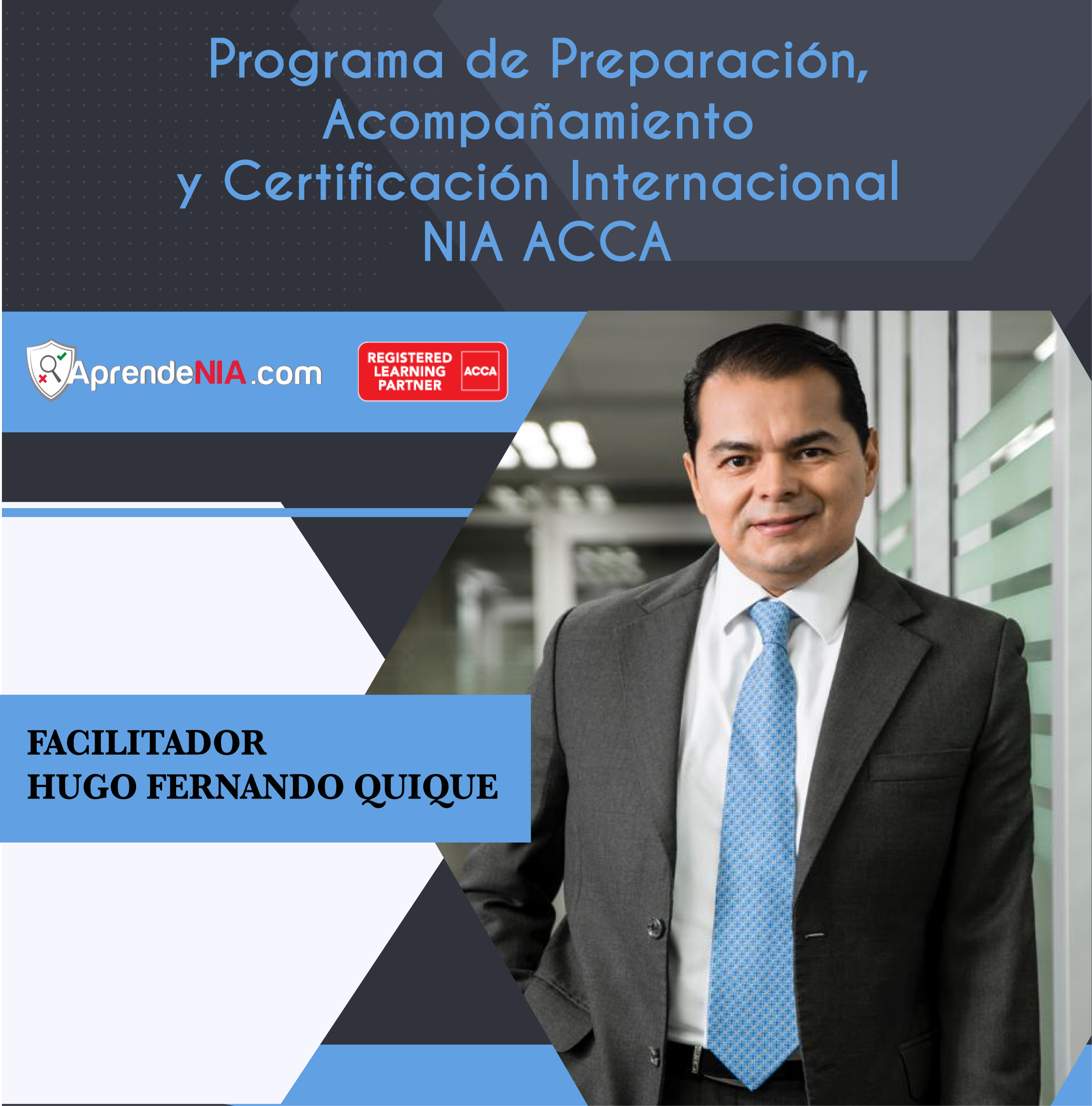 Programa de Preparación, Acompañamiento y Certificación Internacional NIA ACCA