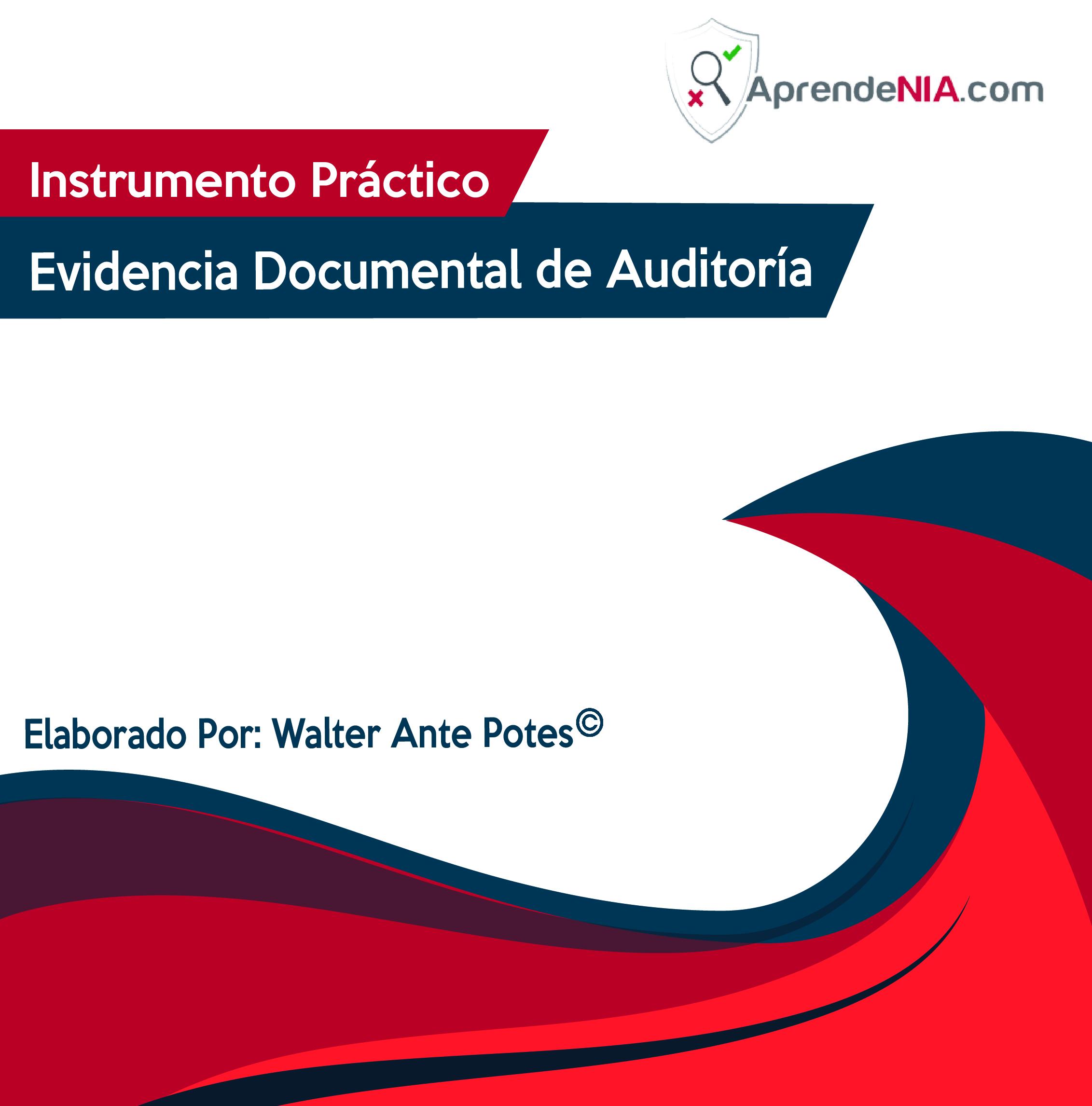 Instrumento Práctico Evidencia Documental de Auditoría